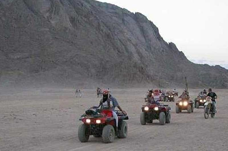Sunset Desert Safari Trip By ATV Quad