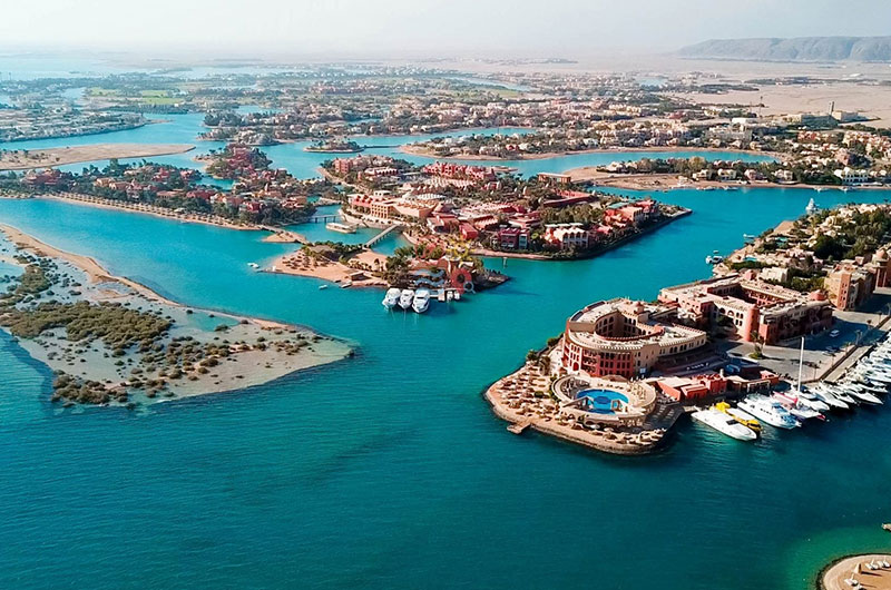 Hurghada Airport Transfers to El Gouna or Makady Bay Hotels