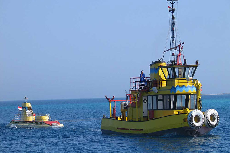 Sindbad Submarine Tours from Safaga Port