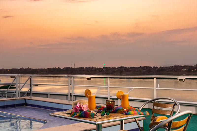 Tamr Henna Nile Cruise 3 Nights / Aswan–Luxor