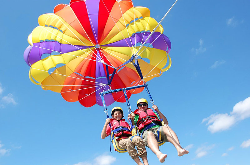 Parasailing adventure excursion in Sharm El Sheikh