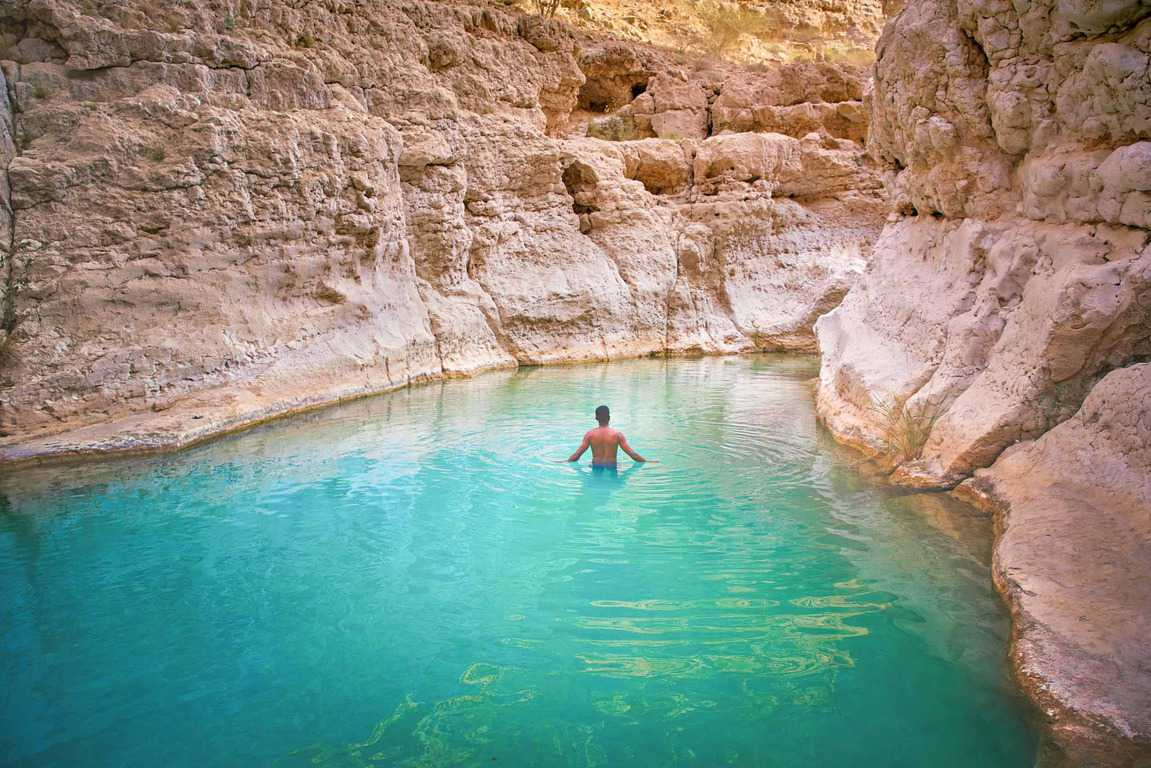Wadi Shab Tour from Muscat
